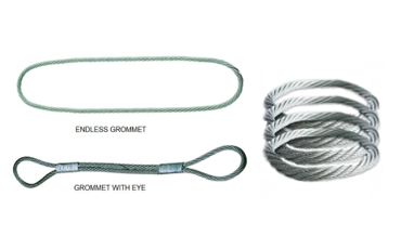 Endless Double Part Wire Rope Slings